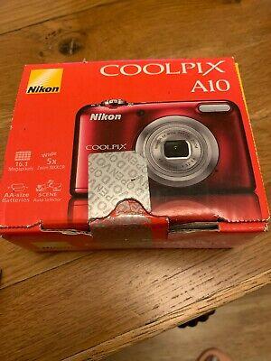 Nikon COOLPIX LMP Digital Camera - Red