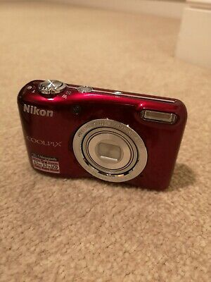 Nikon COOLPIX LMP Digital Camera - Red