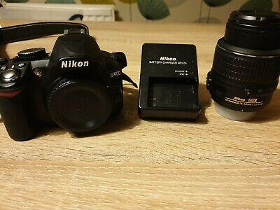 Nikon D DMP Digital SLR Camera - Black (Kit w/