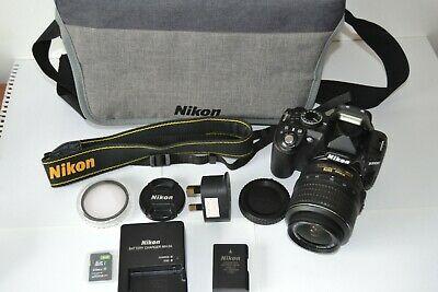 Nikon D DMP Digital SLR Camera - Black Kit w/ VR