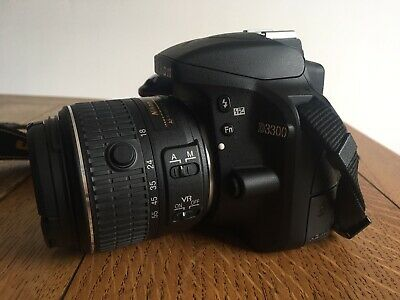 Nikon D DSLR Camera with AF-P DX  VR Lens - Black!