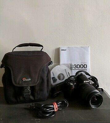 Nikon D Digital SLR Camera with mm Lens and lowepro