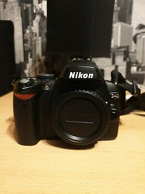 Nikon D MP Digital SLR Camera - Black (Body only)+