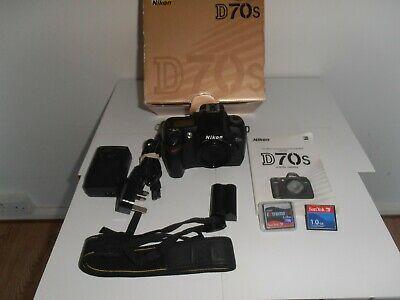 Nikon D70S 6.1 MP Digital SLR Camera - Black (Body only)