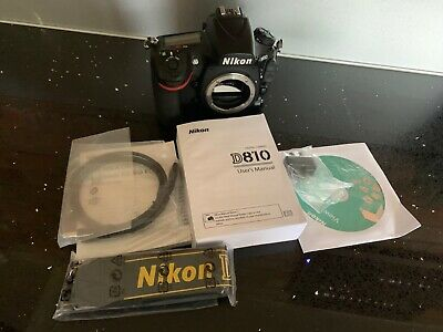 Nikon D810 Body Only - Black, immaculate condition Very Low