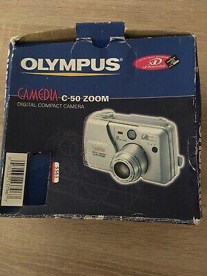 Olympus CAMEDIA C-MP Digital Camera - Silver