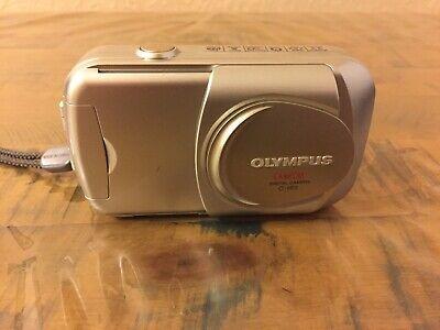 Olympus CAMEDIA C  MP Digital Camera - Silver. TESTED