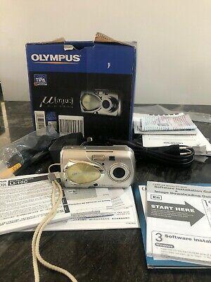 Olympus µ Mju 400 Digital Compact Camera Metal Body Boxed