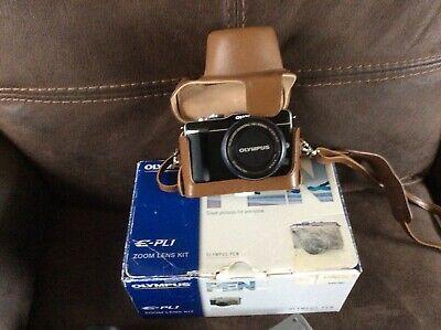 Olympus PEN E-PLMP Digital Camera - Black (Kit w/
