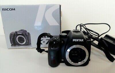 Pentax K-70 DSLR Camera (Body Only, Black)