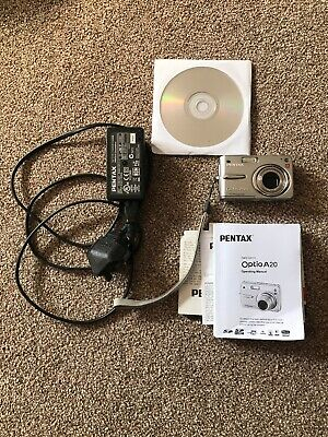 Pentax Optio AMP Digital Camera - Silver