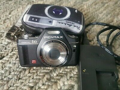 Pentax Optio I-MP Digital Camera - Black with case