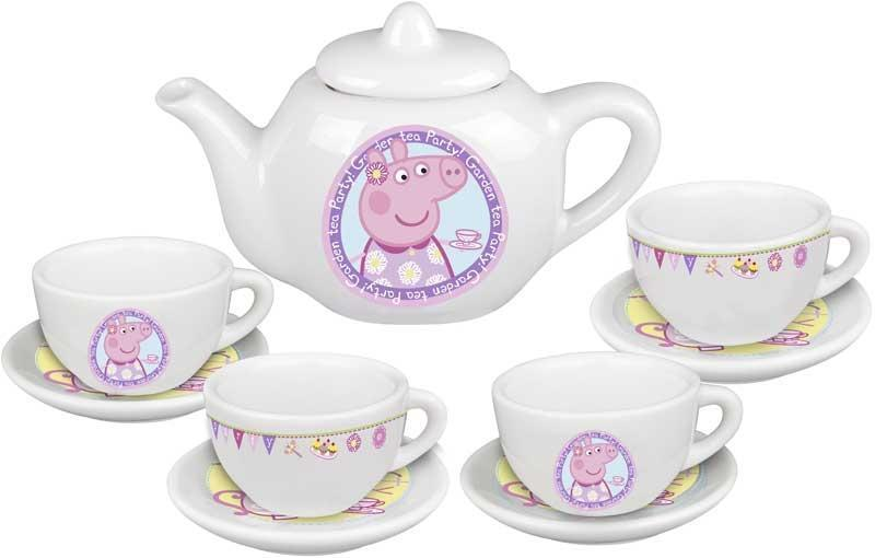 Peppa Pig's Porcelain Tea Set
