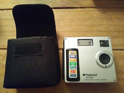 Polaroid PDC MP Digital Camera - Silver