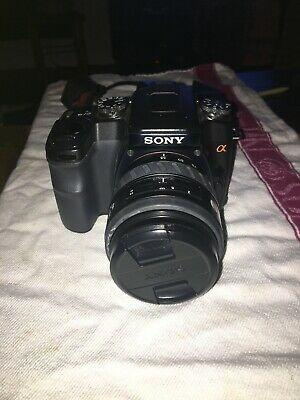 Sony Alpha DSLR-A100K 10.2MP Digital SLR Camera - mm