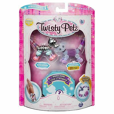 Twisty Petz  Collectible Dazzling Bracelets 3 Pack