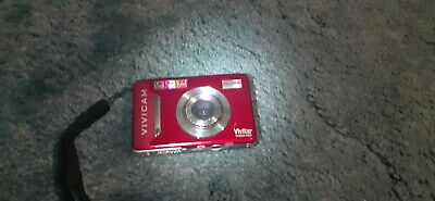 Vivitar ViviCam TMP Digital Camera - Red