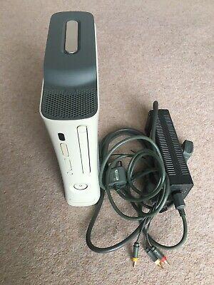 Microsoft Xbox 360 White Arcade Console 20GB Hard Drive