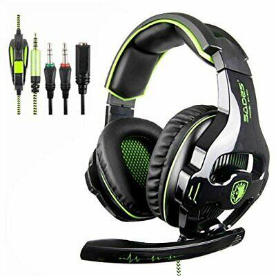 SADES SA810 Stereo Gaming Headset for Xbox One, PC, PS4