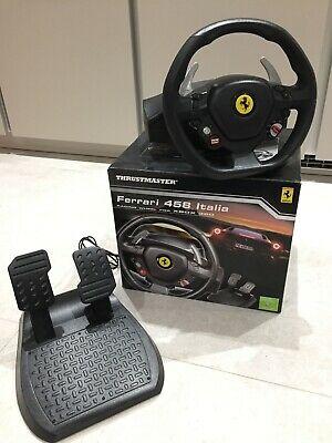 Thrustmaster Ferrari 458 Italia Racing Wheel and Pedals for