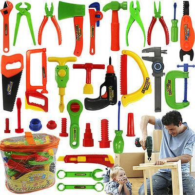 32X Plastic Simulation Repair Tool Kit for Boys Kid Children