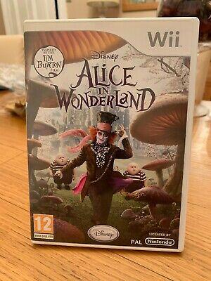 Alice in Wonderland (Wii) PEGI 7+ Adventure Incredible Value
