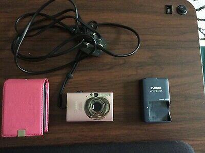 CANON DIGITAL IXUS 80 IS Compact Digital Camera - Pink
