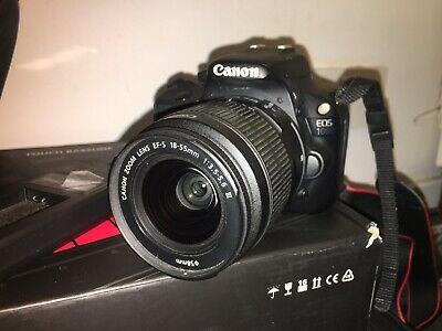 Canon EOS 100D 18.0 MP Digital SLR Camera - Black (Kit with