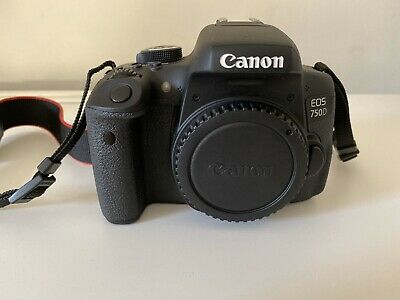 Canon EOS EOS 750D 24.2MP Digital SLR Camera - Black (Kit