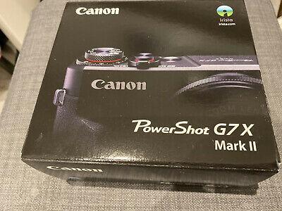 Canon PowerShot G7 X Mark II Digital Camera