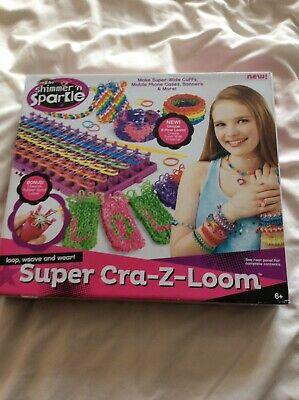 Cra-Z-Art Shimmer N Sparkle Super Cra-Z-Loom Playset -