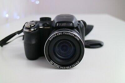Fujifilm FinePix S Series S Digital Camera Black, Strap