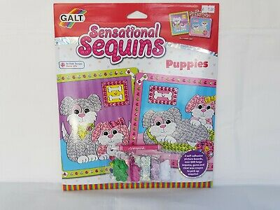 Galt - Sensational Sequins - Puppies Craft Activity, BRAND
