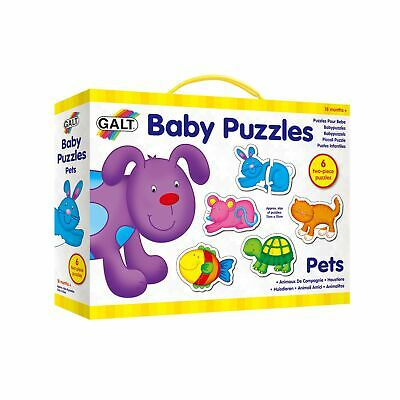 Galt Toys New Baby Puzzle - Pets.