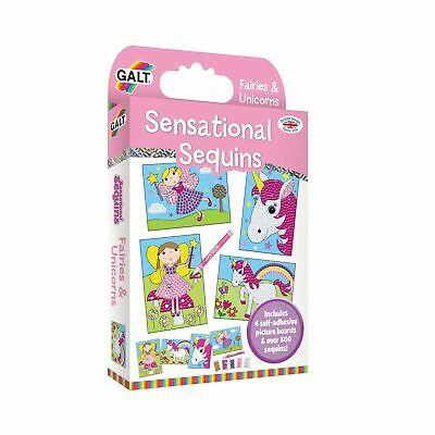 Galt Toys Sensational Sequins Fairies and Unicorns 1