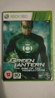 Green Lantern: Rise of the Manhunters (Microsoft Xbox 360,