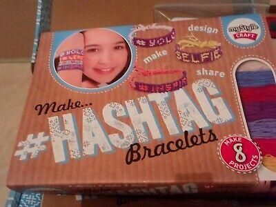 HASHTAG BRACELETS - MY STYLE CRAFT KIT FOR GIRLS.