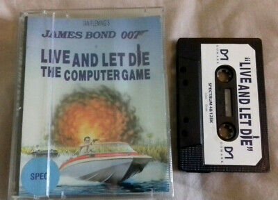 James Bond 007: Live and Let Die by Encore - ZX Spectrum