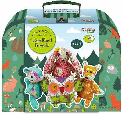 Kreative Kids Woodland Friends Stitch & Sew Play Set