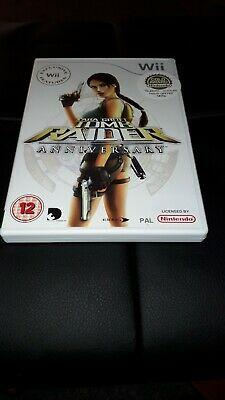 Lara Croft Tomb Raider Anniversary Wii Nintebdo Computer