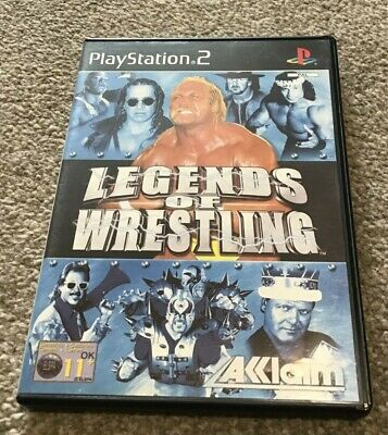 Legends of Wrestling (Sony PlayStation ) Mint