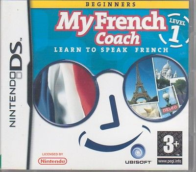 'My French Coach', Level 1, on Nintendo DS (learn to speak