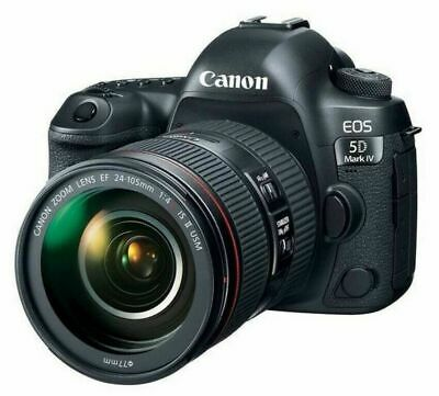 NEW Canon EOS 5D Mark IV (4) DSLR Camera + EF mm f/4L