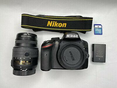 Nikon D DMP Digital SLR Camera AF-S DX VR mm