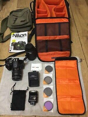 Nikon D Digital SLR Camera with AF-P  VR Lens -