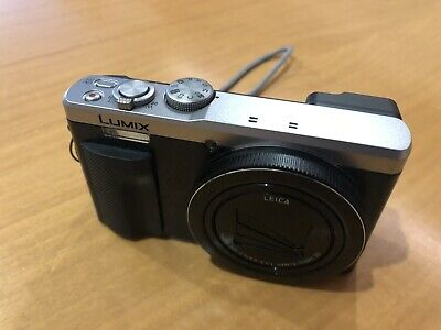 Panasonic DMC-TZ80 Lumix 18.1MP 4K Superzoom Camera - Silver
