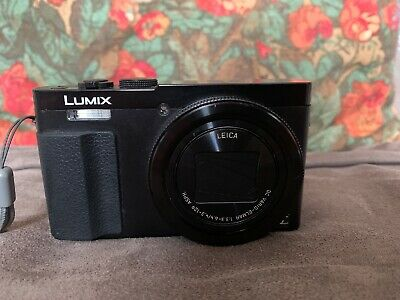 Panasonic Lumix DMC-TZMP Compact Digital Camera - Black