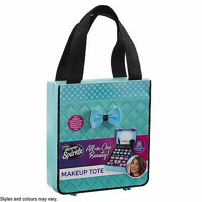 SHIMMER AND SPARKLE ALL IN ONE BEAUTY MAKEUP TOTE CHILDS