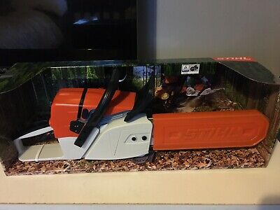 STIHL TOY REPLICA KIDS CHILDS PLAY CHAINSAW WITH MOVEMENT &