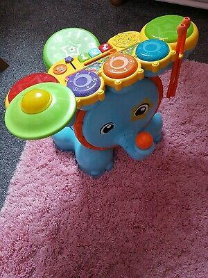 VTech Safari Drum and Sound Elephant Toy